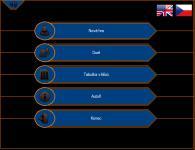 Screenshot programu Milionář Herní edice 1.1