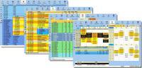 Screenshot programu Mimosa Scheduling Software 6.5.8