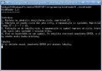 Screenshot programu MindReader Linux 1.0