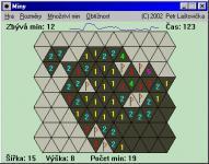 Screenshot programu Miny 4.0