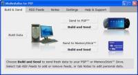 Screenshot programu MioMediaBox for PSP 1.11