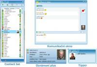 Screenshot programu Miranda ICQ 6 pack 1.03 verze pro stávající uživatele