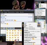 Screenshot programu Miranda IM Bagr pack 1.3.1