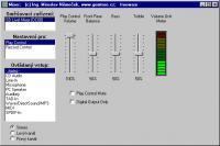 Screenshot programu Mixer