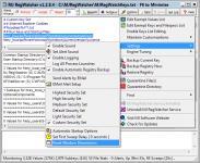 Screenshot programu MJ Registry Watcher 1.2.8.4