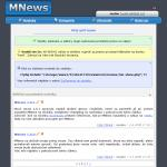 Screenshot programu MNews 1.1.1