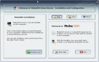 Screenshot programu MobaSSH 1.22