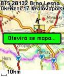 Screenshot programu MobiGPS - Vodafone 1.6.0