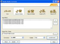 Screenshot programu Mobile Media Converter 1.7.7