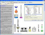 Screenshot programu Model ChemLab 2.5