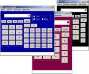 Screenshot programu Moje kalkulačka 1.1