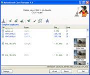 Screenshot programu Moleskinsoft Clone Remover 3.9