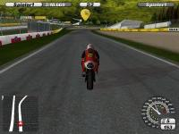 Screenshot programu Moto Race Challenge 2008