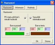 Screenshot programu Mouse tracker