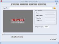 Screenshot programu Moyea SWF to Video Converter 2.3