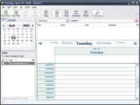 Screenshot programu Mozilla Sunbird 1.0 beta 1 Portable