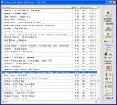 Screenshot programu Mp3 List Maker De Luhe 5.34