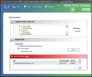 Screenshot programu Multi Virus Cleaner 9.0.1