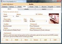 Screenshot programu Music Encyclopedia 4.1.3