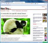 Screenshot programu My internet browser 6 Portable