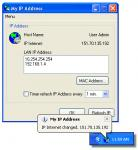 Screenshot programu My IP Address 1.2