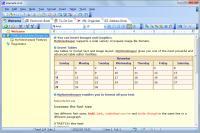 Screenshot programu My Notes Keeper 3.7 Build 1921