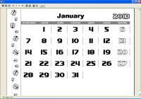 Screenshot programu MyCalendar 1.33
