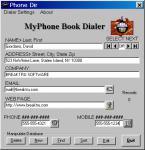 Screenshot programu MyPhone Book Dialer 10.1.0