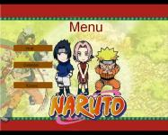 Screenshot programu Naruto Arkanoid