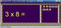 Screenshot programu Násobení do 99