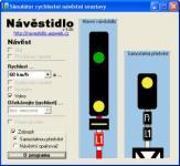 Screenshot programu Návěstidlo 5.00