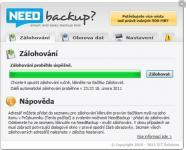 Screenshot programu NeedBackup 1.0.3