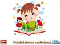 Screenshot programu Nejkrásnější české pohádky - O chudých sirotcích a andělu