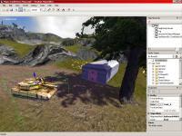 Screenshot programu NeoAxis