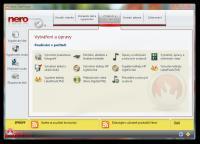 Screenshot programu Nero 8 Ultra Edition 8.3.20.0