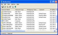 Screenshot programu NetResView 1.26