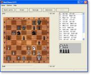 Screenshot programu NetChess 0.91