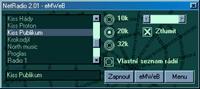 Screenshot programu NetRadio 3.0.2