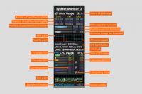 Screenshot programu Network Monitor II 17.1