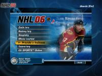 Screenshot programu NHL 2006