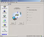 Screenshot programu Nokia PC Suite 7.1