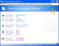 Screenshot programu Notebook Hardware Control 2.0 Pre-Release-06