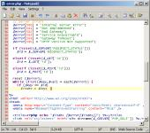 Screenshot programu Notepad2 3.0.20 RC 2
