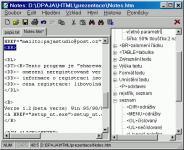 Screenshot programu Notes 2.4