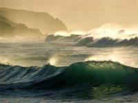 Screenshot programu Ocean Waves Free Screensaver 1.0
