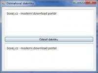Screenshot programu Odstraňovač diakritiky 1.0