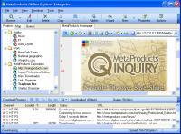 Screenshot programu Offline Explorer Enterprise 7.0.4408