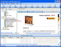 Screenshot programu Offline Explorer 7.0.4408
