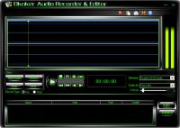 Screenshot programu Okoker Audio Recorder Editor 2.9