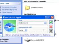 Screenshot programu One-click CD Ripper  1.9